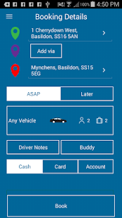 A & B Taxis (Basildon)- screenshot thumbnail