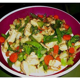 Chicken In Chinese Marinade.