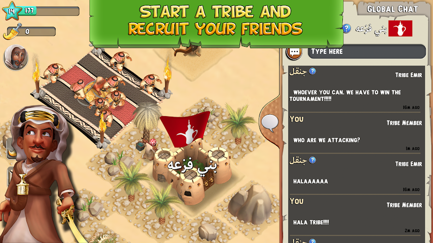 Tribal Rivals - screenshot