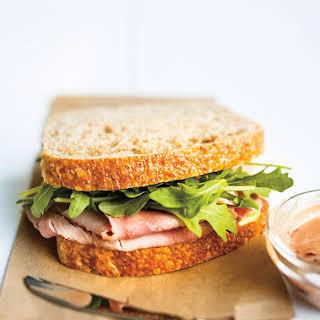 Cherry-Mustard Ham Sandwiches.
