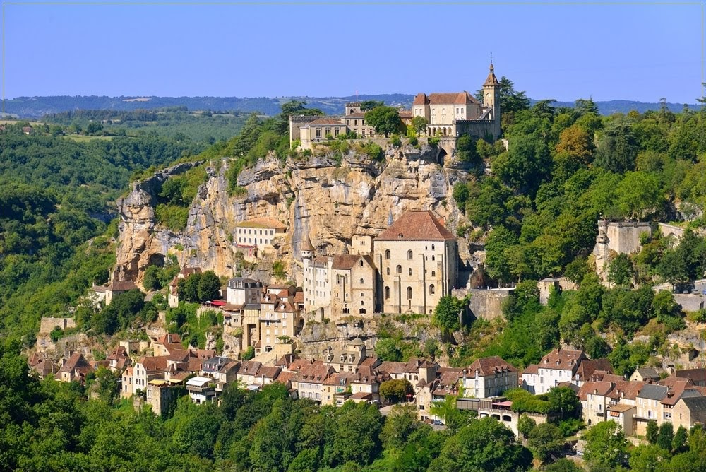 Durindana, a espada encravada no penhasco de Rocamadour
