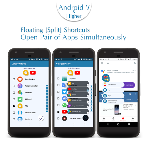 Floating Shortcuts ᴾᴿᴼ app for Android screenshot
