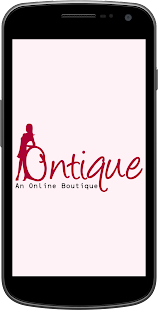 Ontique - An Online Boutique- screenshot thumbnail