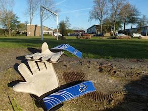 Photo: Vergeten handschoenen