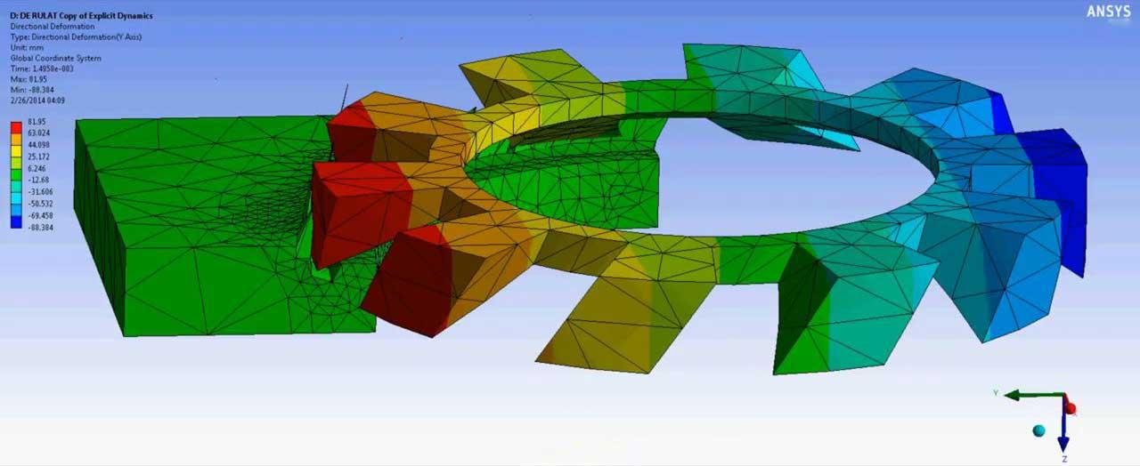 Выполнение прочностного расчета на основе данных предварительного теплового анализа в ANSYS® Workbench Mechanical