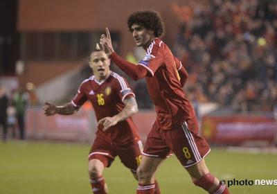 Les fans belges sont devenus fous après le but de Fellaini