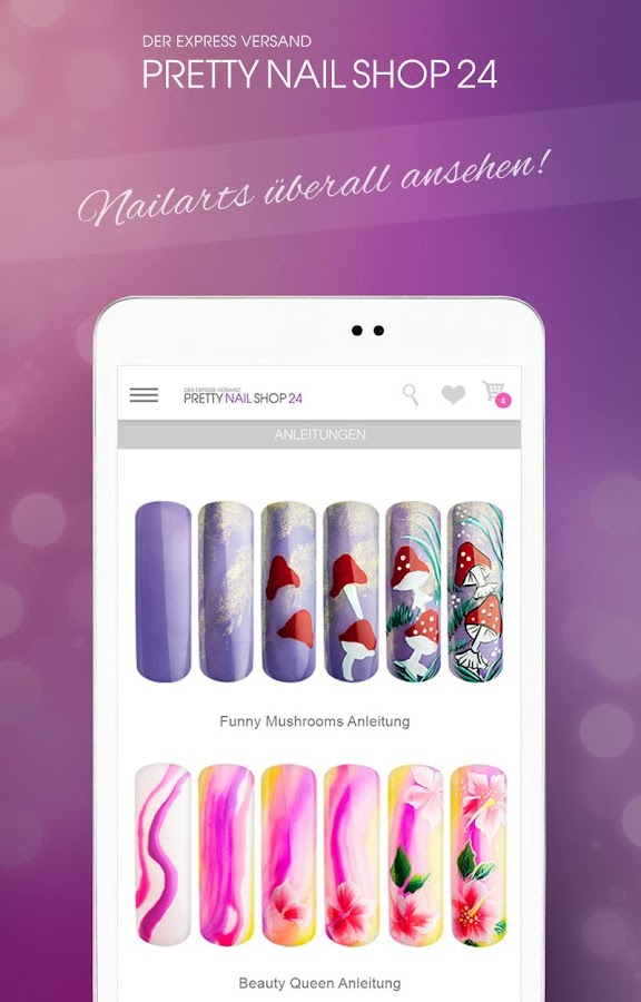 Pretty Nail Shop 24- screenshot