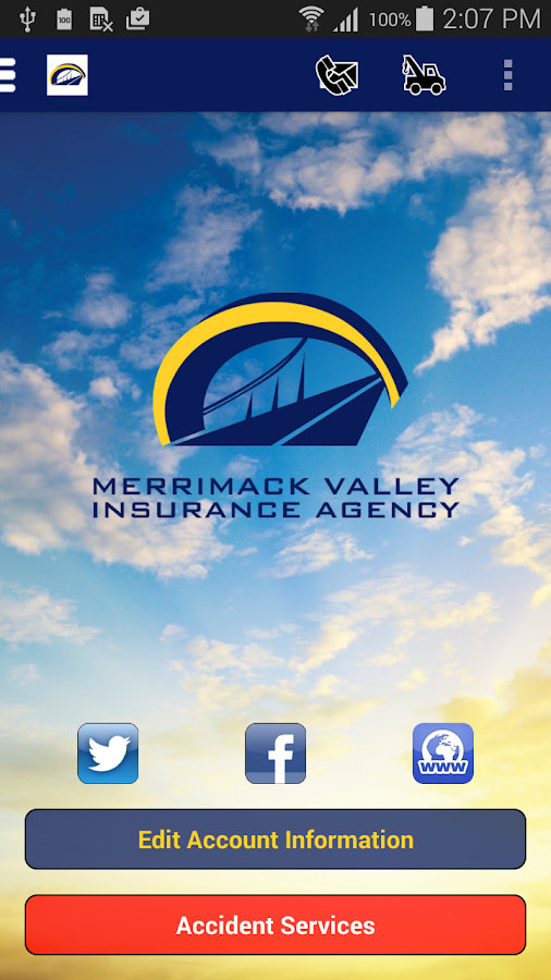 Merrimack Valley Insurance- screenshot