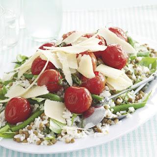 Roast Tomato and Lentil Salad