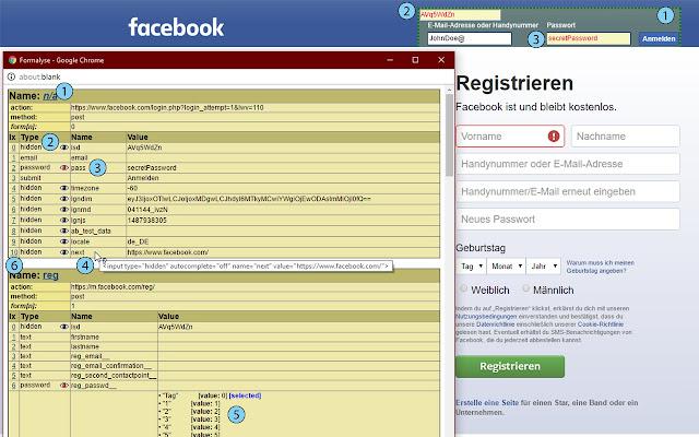 Formalyse: Debug your web form