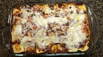 Sausage & Ravioli Lasagna