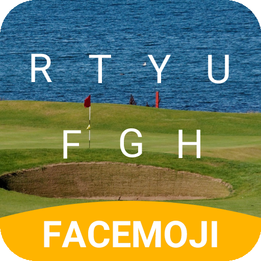British Golf Emoji Keyboard Theme for the Open