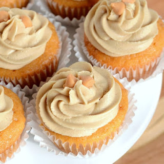 Butterscotch Cupcakes.