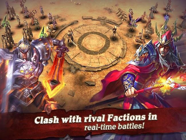 Clash for Dawn: Guild War- screenshot