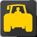 FieldBee tractor GPS navigation icon