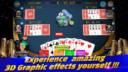 Boss Poker u2013 Texas Holdem Blackjack Baccarat apkslow screenshots 7