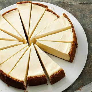 Classic New York-Style Cheesecake.