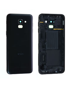 Galaxy J6 2018 Back Cover Black Duos