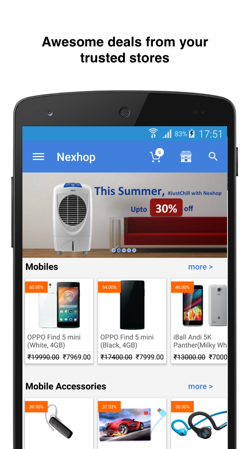 Nexhop -Explore Stores Around- screenshot