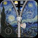 Starry Night Zipper Lock icon