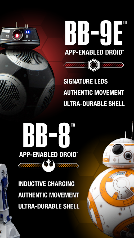 Star Wars Droids App by Sphero- screenshot