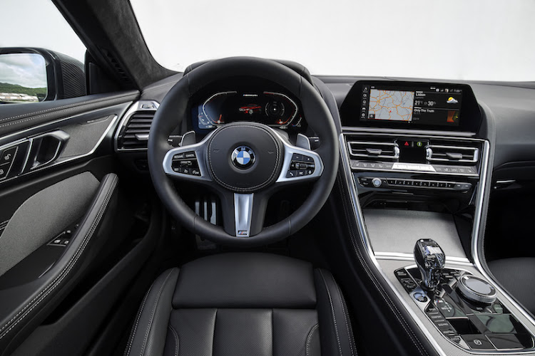 The new BMW Connected Drive system includes over- the-air updates and a 10.25-inch touchscreen with personalisable displays.