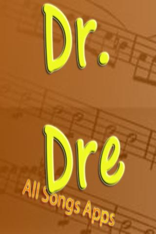 All Songs of Dr. Dre