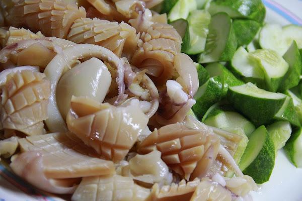 Spicy Calamari  (squid) Recipe