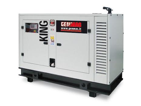 DEMO/BEGAGNAD Dieselelverk Genmac King G80IS