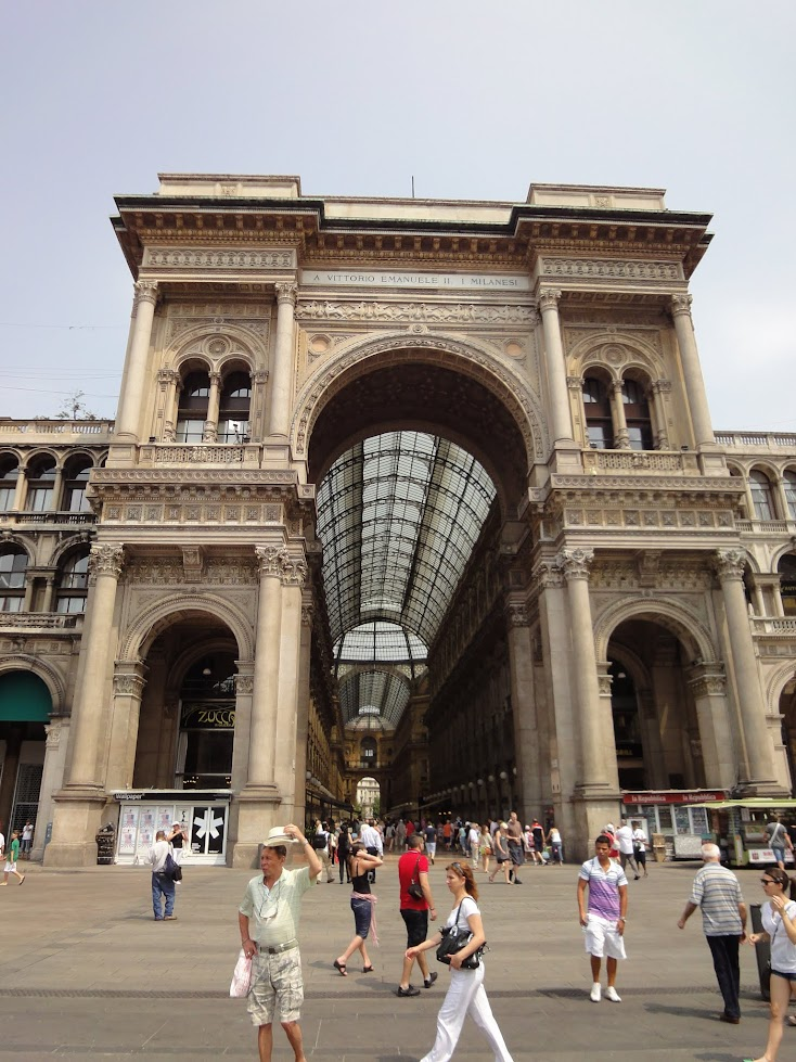 Galerie Victor Emmanuel II à Milan