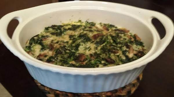Spinach Pudding Recipe