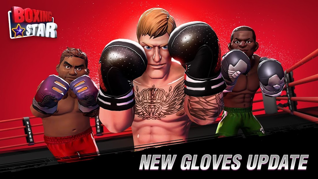 Boxing Star Android App Screenshot
