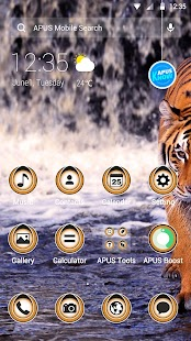 How to install Animal-APUS launcher theme 2 unlimited apk for android