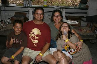 Photo: Mark & Nancy and kids