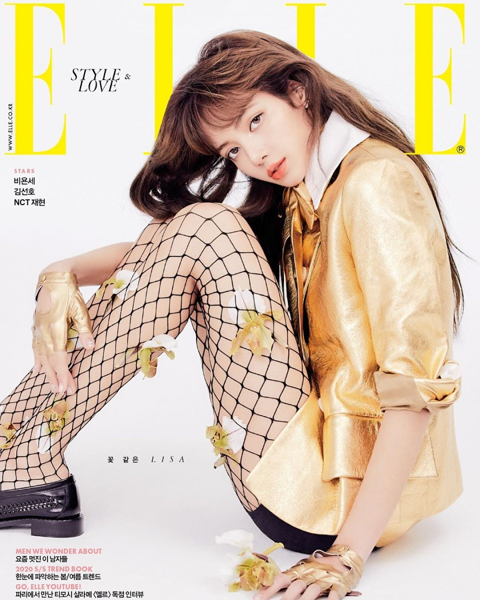 elle korea lisa1