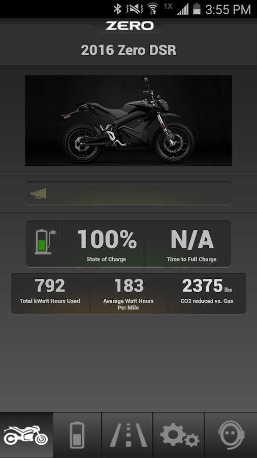 Zero Motorcycles- screenshot