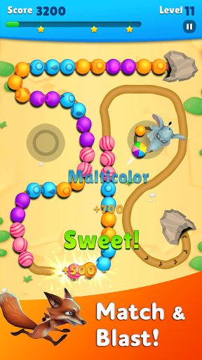 Marble Wild Friends - Shoot & Blast Marbles 1.14 screenshots 1