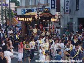 Photo: 【平成16年(2004) 宵宮】 祭典本部前。