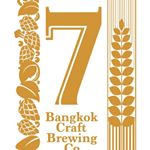 "Logo for ""7"" Bangkok Craft Brewing"