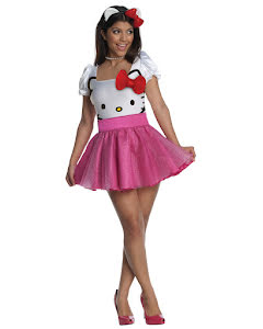 Hello Kitty klänning, vuxen