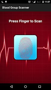 Blood Group Scanner Prank screenshot 1