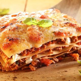 Syn Free Quick & Cheesy Slimming World Lasagne Recipe