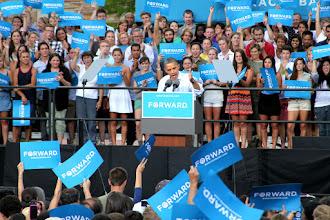 Photo: President Obama in Boulder CO.