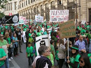 Photo: Manifestación del 22 de octubre de 2011 en favor de  la Educación Pública (Atocha-Sol) 12