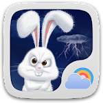 Mr Rabbit GO Weather Theme Icon
