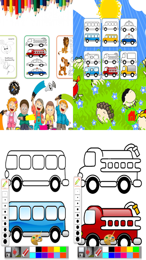 kids drawing color book free android apps on google play - Book For Free For Kids