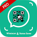 Status Saver and WhatsScan QR Scanner PRO icon