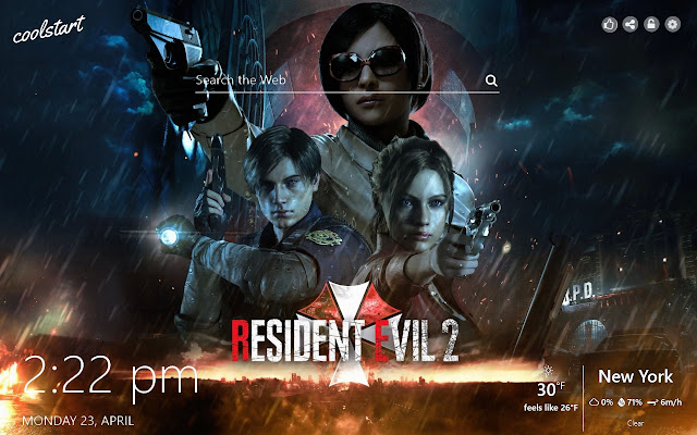 Resident Evil 2 HD Wallpapers Games Theme