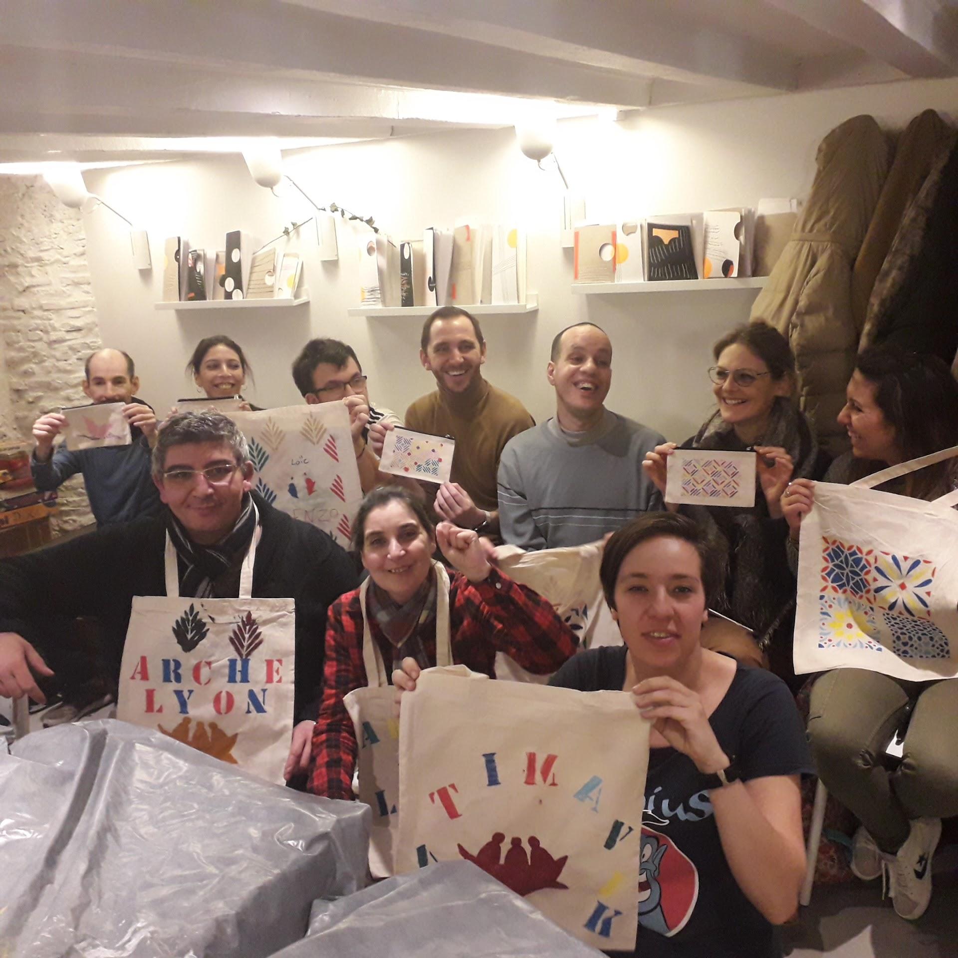Journée solidaire avec Opteven à L'Arche à Lyon
