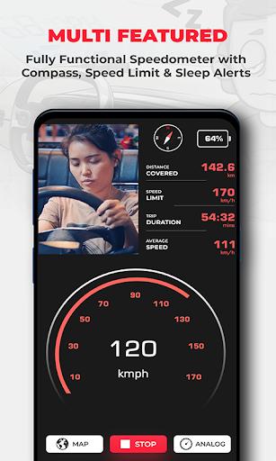 Sleep Alert & GPS Speedometer Car Heads up Display hack tool